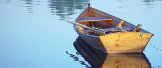лодка в реке