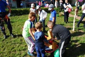 В Чрезвычайном фонде организовали праздник для детей
